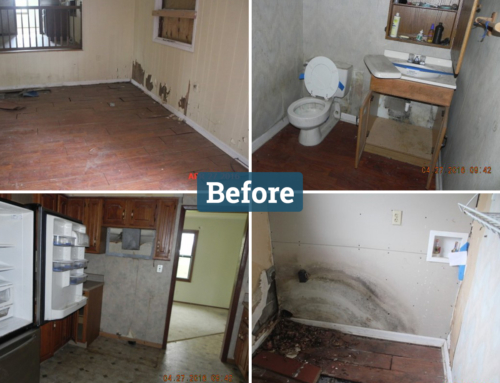 Indianapolis Indiana Real Estate Flip Before and After