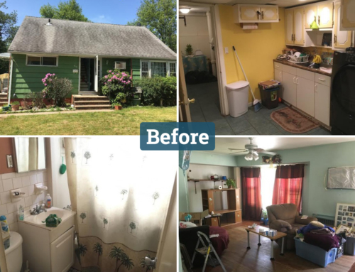 Roselle, NJ Real Estate Flip Before And After