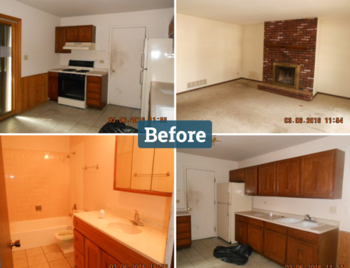 Richton Park Illinois Real Estate Flip Before and After