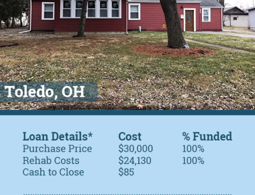 Ohio Hard Money Lender Funds Low Cash To Close Investment