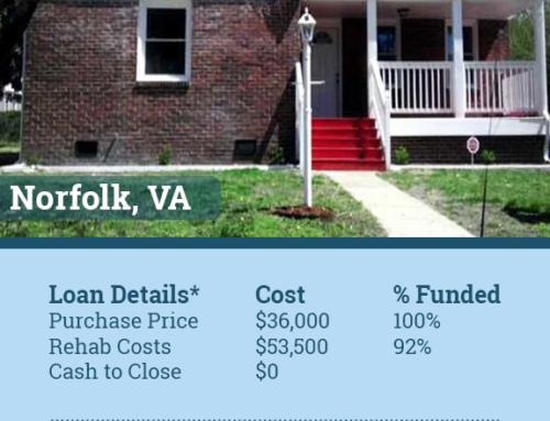 Norfolk Virginia Hard Money Loan Funds Deal