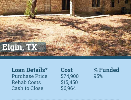 Elgin Texas Hard Money Loan