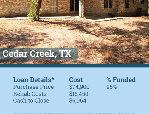 Cedar Creek Texas Hard Money Loan